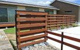 セランガンバツ塗装ウッドフェンス